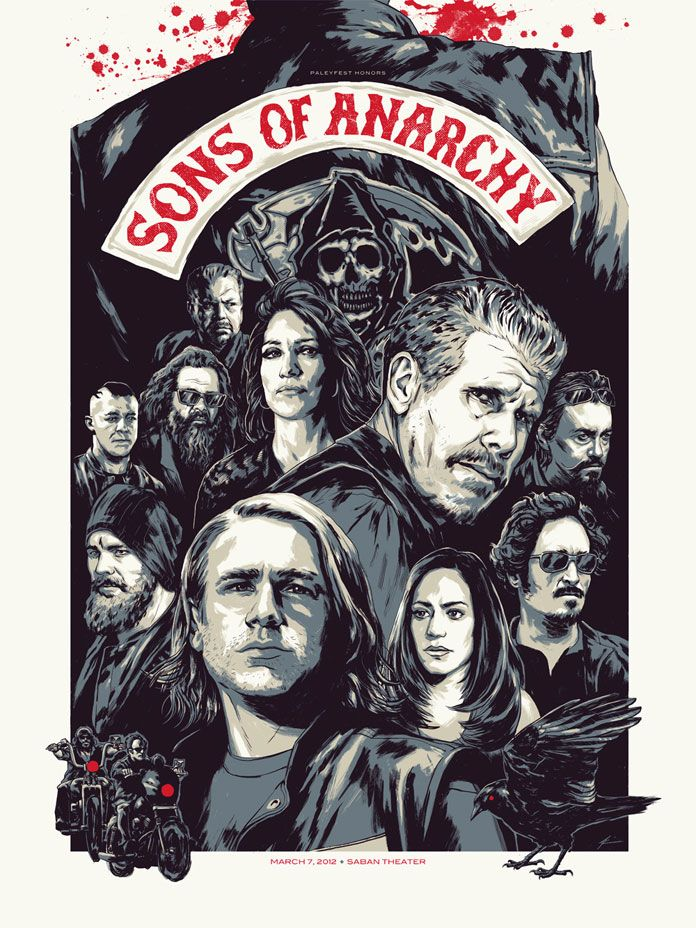 Sons of Anarchy by Phantom City Creative.