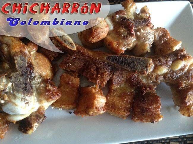 Donde Estas Home Recetas Plato Principal Carnes Chicharrón De Cerdo Colombiano Chicharrón Frito Chicharrón Chicharrones De Cerdo Chicharrones Cerdo