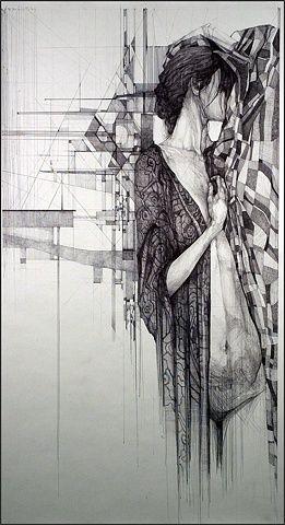 Megan Mcglynn - spectacular ink drawings