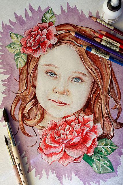 My watercolor