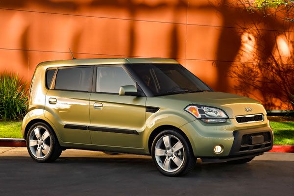2010 Kia Soul The Soul concept used a 2.0-liter four cylinder paired to a five-speed automatic—not exactly a lot of juice. But people loved the look, and Kia launched the Soul three years later. This was a fun ride, especially when equipped with a manual transmission. Honestly, though, it was the company's hugely popular (and on-going) hamster ad campaign that made the Soul.