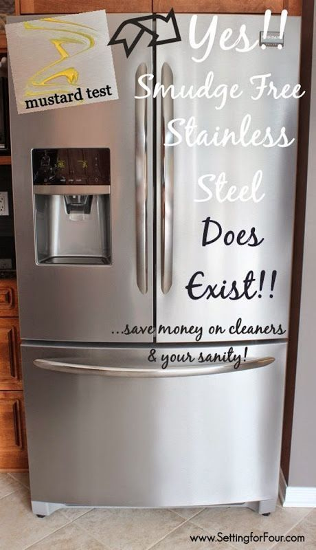 yes smudge proof stainless steel really does exist cleaning stainless steel stainless steel. Black Bedroom Furniture Sets. Home Design Ideas