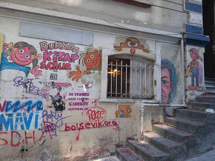 Sadri Alışık Sokak/İstanbul Temmuz 2016