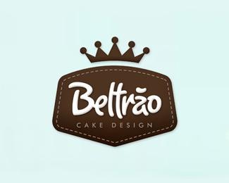 Beltão Cake Design    Cute rough logo. Subtitle could be a little more readable.