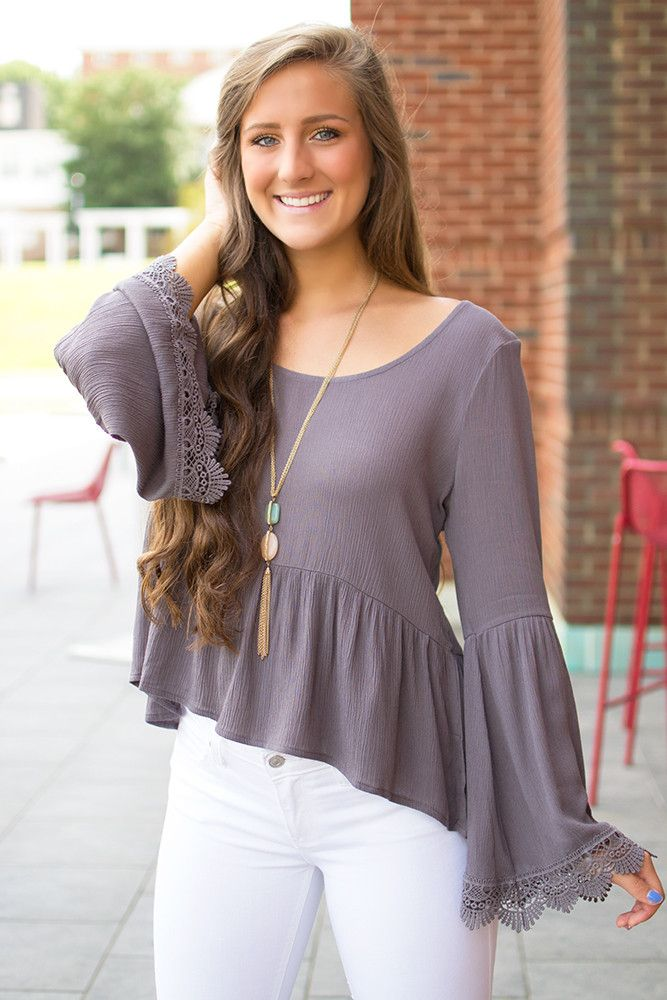 Flower Child Top - Plum Kitten from Page 6 Boutique