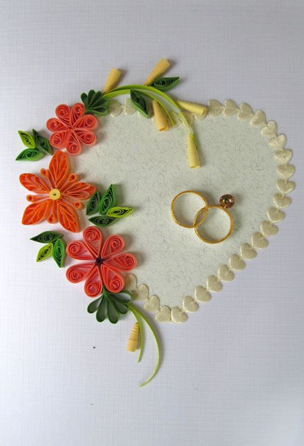 Find This Pin And More On Wedding Cards Things That Pertain To A Quilled