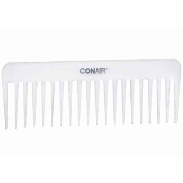 Conair Wide Tooth Comb ❤ liked on Polyvore featuring fillers, beauty, accessories, hair and white fillers