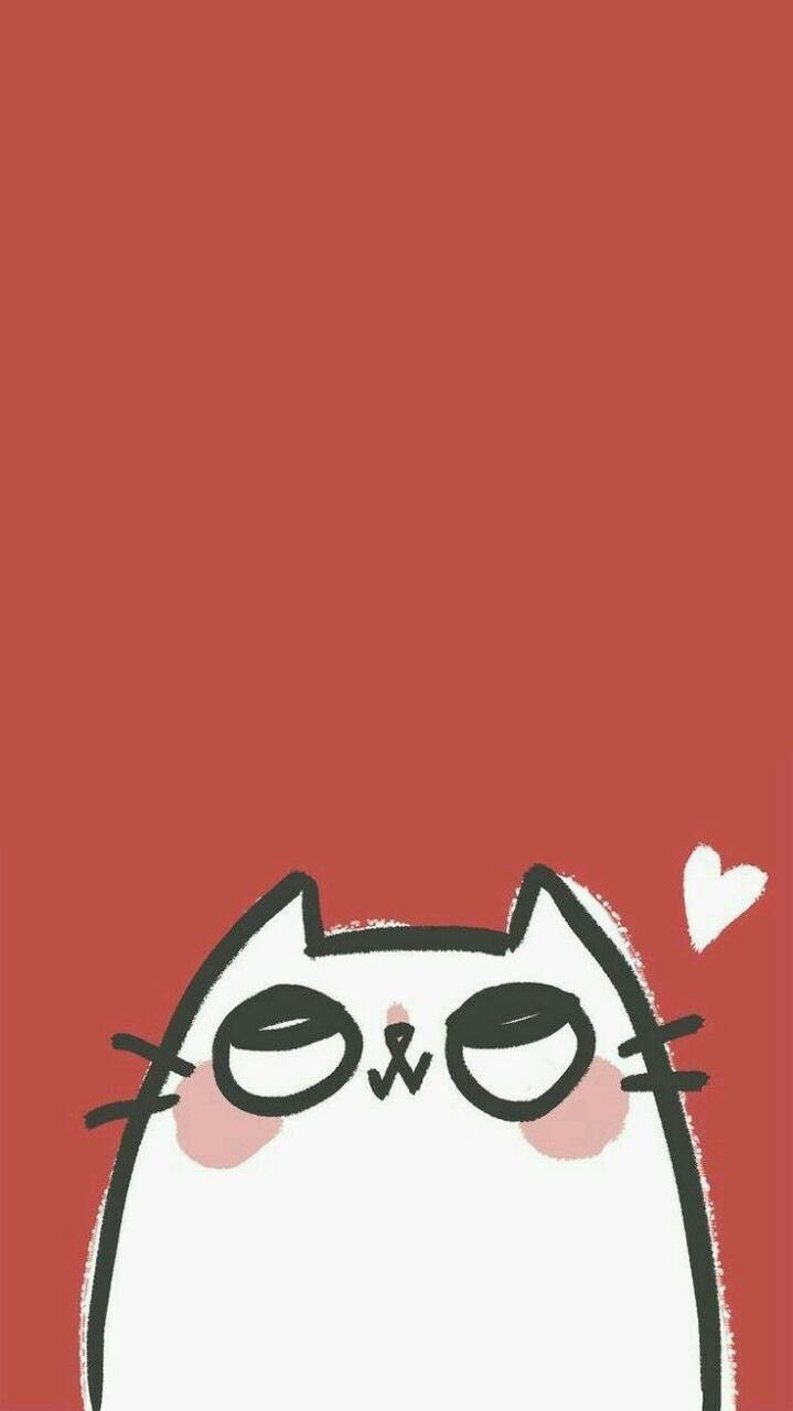 Pin By Ingrid Tsai On Cartoon Wallpaper Iphone Cute Cute Cat Wallpaper Cartoon Wallpaper