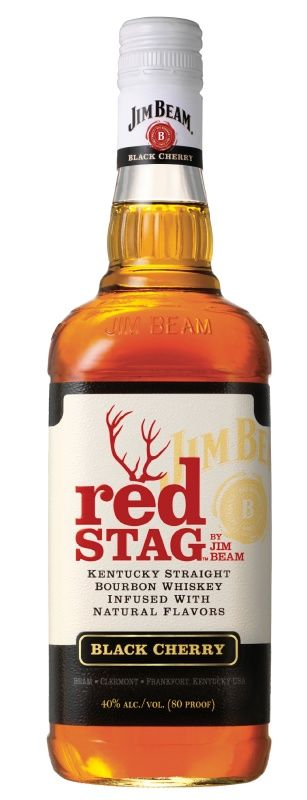 """Red Stag by Jim Beam  """"Kentucky Straight Bourbon Whiskey Infused with Natural Flavors."""" My drink of choice."""