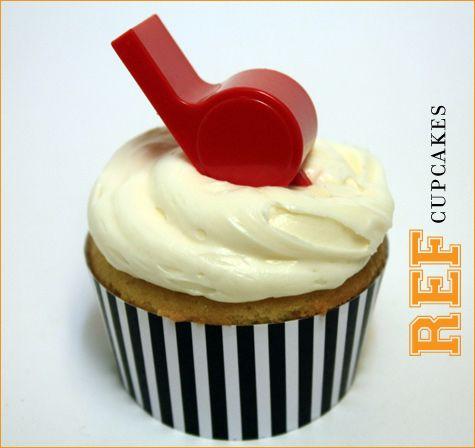 Super Bowl / Football Party Cupcakes