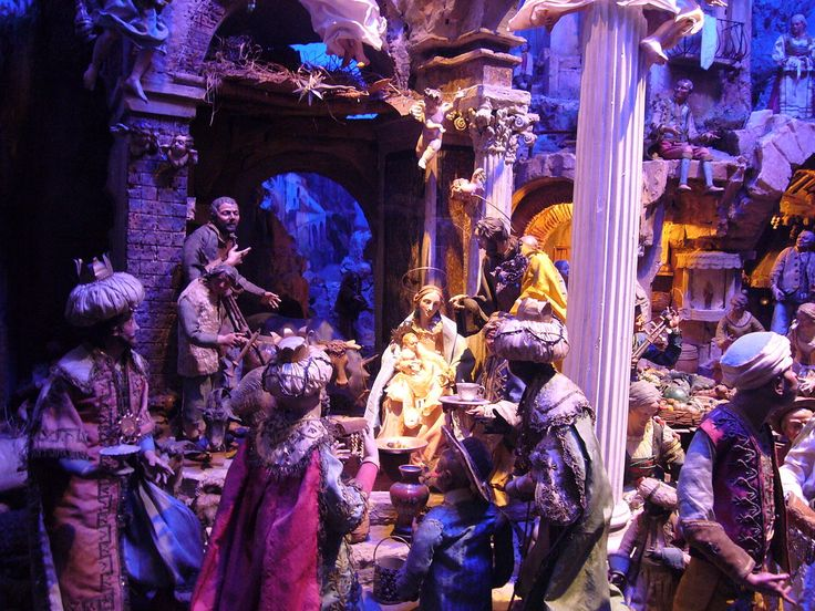 Presepe naples rome2 - Nativity scene - Wikipedia, the free encyclopedia