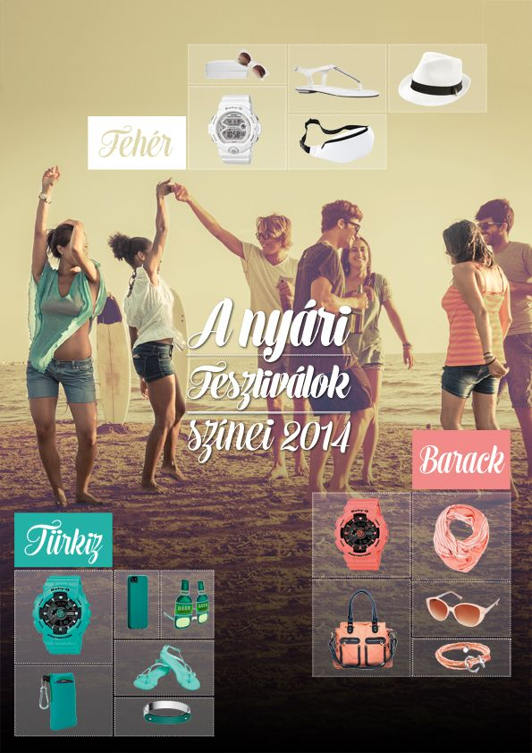 A nyári fesztiválok színei 2014