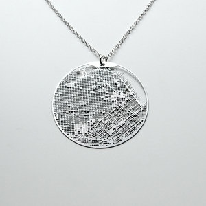 Map of San Francisco on a pendant, how can you go wrong? I have the earrings, which I LOVE!