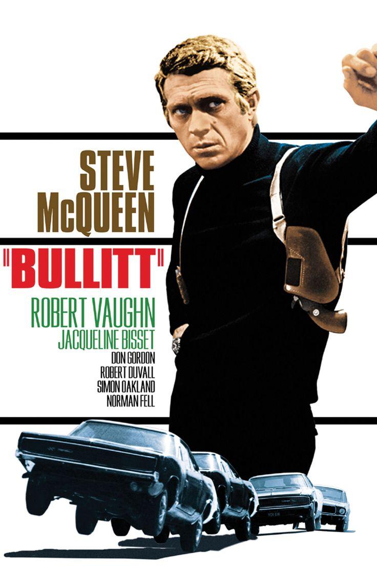 Bullitt HD Movie Poster