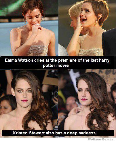 Emma Watson vs Kristen Stewart