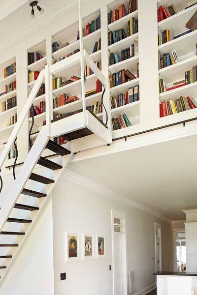 17 Best ideas about Living Room Bookshelves on Pinterest