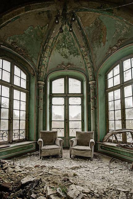 Abandoned chateau, Belgium.