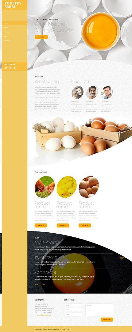 Best Food Restaurant Website Images On Pinterest