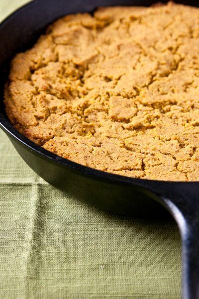 Pumpkin cornbread (Vegan + gluten free) | Gluten Free Recipes | Pinte ...