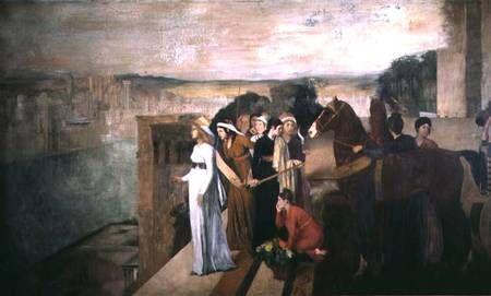 Η Σεμίραμις κτίζει τη Βαβυλώνα (1861)