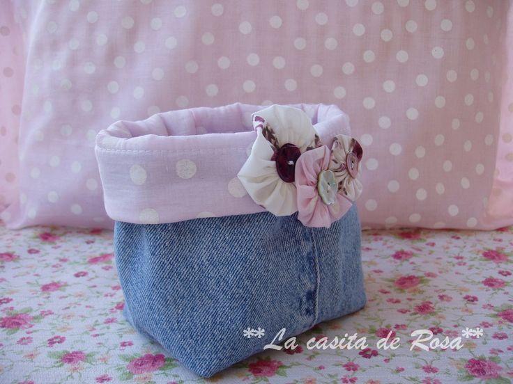 Cómo hacer una bolsa de aseo - La casita de Rosa