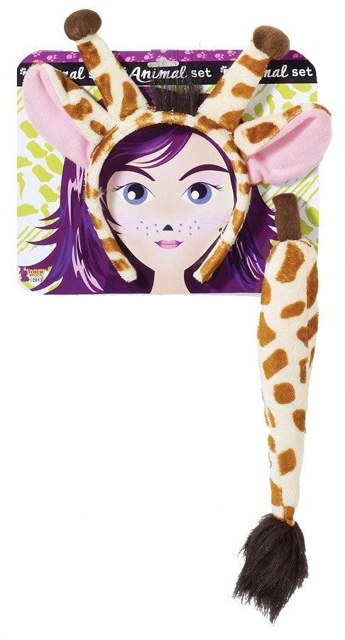 Giraffe Ears And Tail Set
