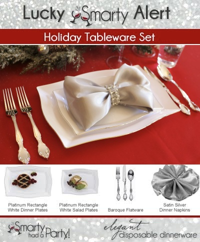 Congrats to @Celia @Crystal Reames @Savvylicious Sweets u0026 @Andy Moyssidis on receiving the Smarty Holiday Tableware Set! Please private message us ...  sc 1 st  Pinterest & 15 best Lucky Smarties images on Pinterest | Place settings Desk ...
