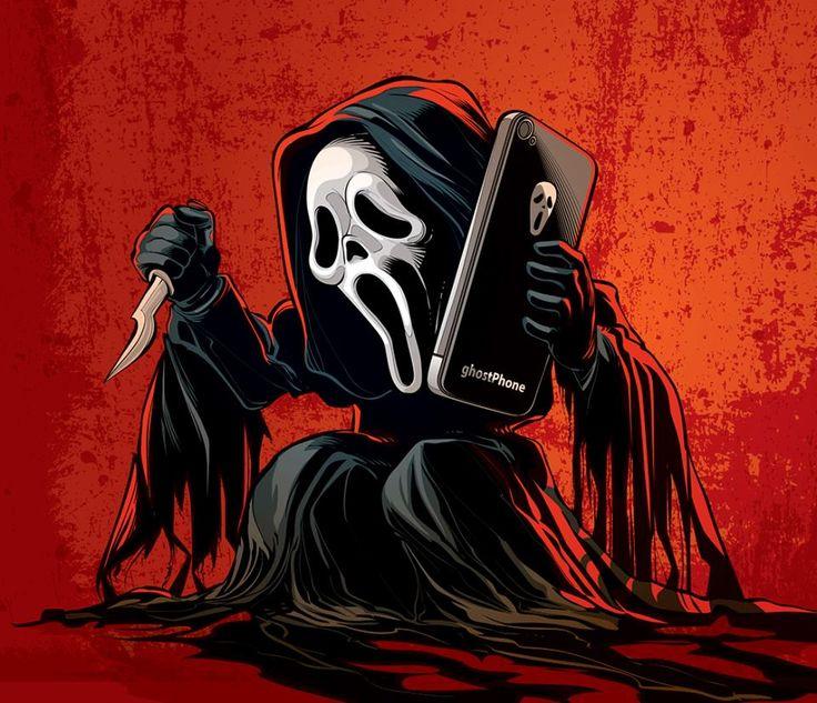 Horror Movie Villains: byCristiano Siqueira - Scream
