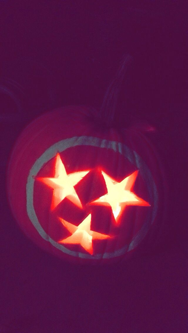 Tennessee State Flag Pumpkin Tri Star Diy Pinterest