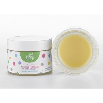 Happy Little Poppets All Over Balm. A natural All Over Balm. Gentle skincare product from the New Zealand made Happy Little Poppets range. Lovely baby gift  See more at www.entirelynz.co.nz/skincare