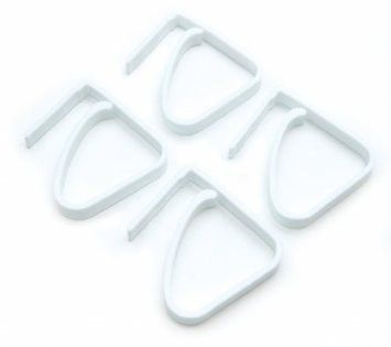 Fox Run Tablecloth Clips, Set of 4