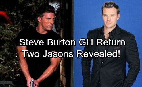 General Hospital (GH) spoilers tease that Steve Burton's return as Jason will have viewers on the edge of their seats and provide a nice...