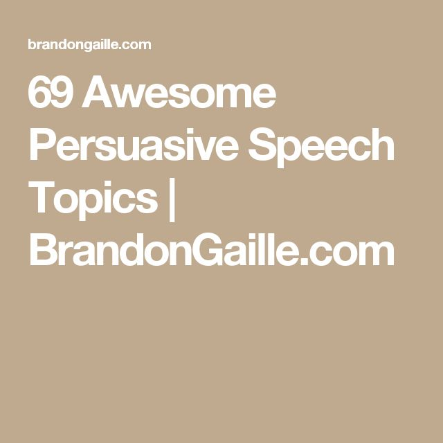 speech topics help com 3,000+ speech topics free speech topics lists with more than 3,000 persuasive, informative and other speech ideas, speech writing tips, how to guides, tutorials and information on outlining your speech topic for public speaking.