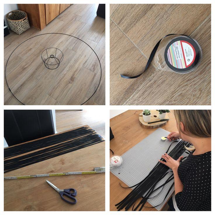 suspension salon art and crafts. Black Bedroom Furniture Sets. Home Design Ideas