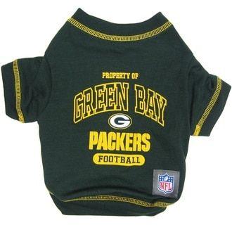 Green Bay Packers NFL Football Pet T-Shirt