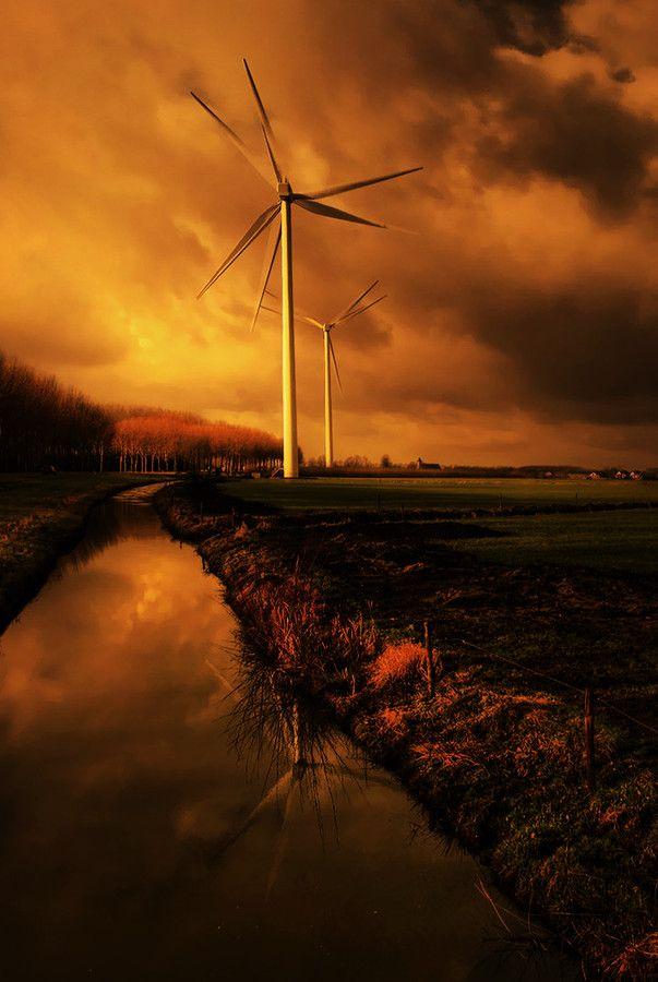 Blow - Sunset, Culemborg, Holland