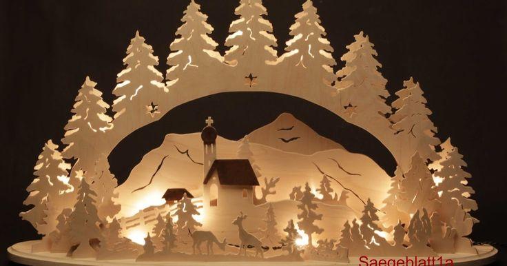 Schwibbögen, Lichterbögen, Weihnachtspyramiden, Weihnachtsdekorationen, Laubsägearbeiten, Handarbeit, Erzgebirge, Schwibbogen, Pyramide