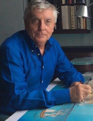 Il celebre illustratore inglese Paul Draper presenta l'opera