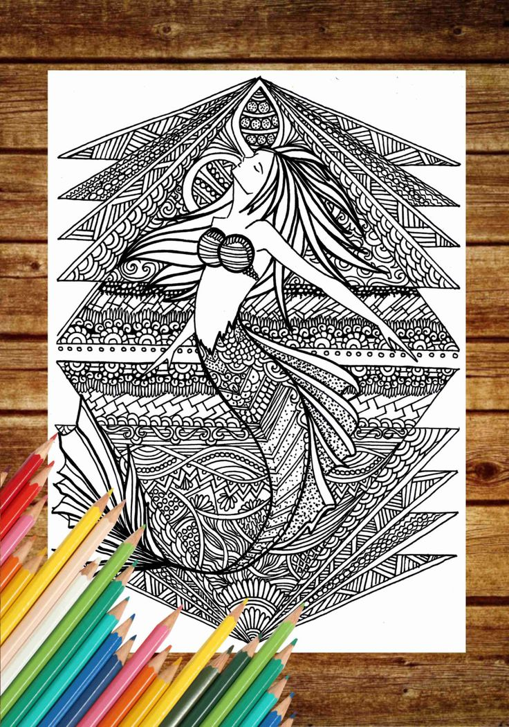Coloring Book Etsy : 14 best images about fantasy coloring page on pinterest
