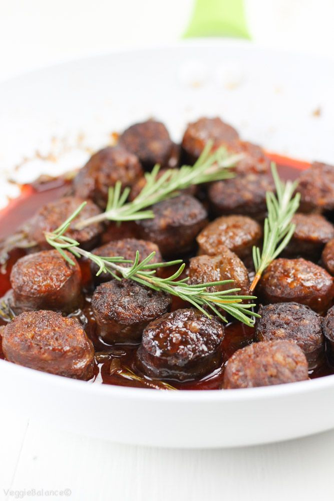 Msg 4 21+ Chorizo in Red Wine recipe with fresh rosemary. Paired with a glass of red wine and served at your next tapas dinner party. Gluten-Free and Dairy-Free.  #EntertainandPair  #sponsored
