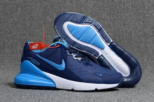 Best Quality Nike Air Max Flair 270 KPU Navy Blue White