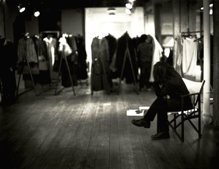 Yohji Yamamoto in Design Museum Holon, Israel by Donata Wenders