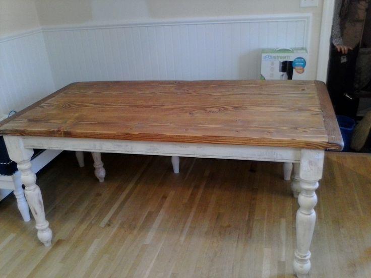 Marvelous Farmhouse Plank Table