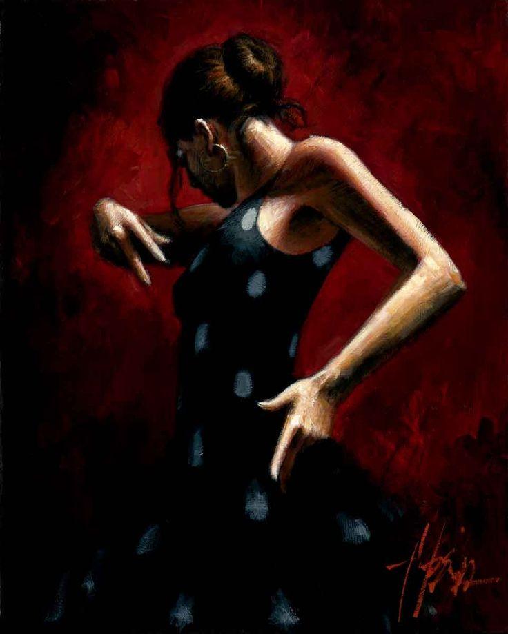 portrait Flamenco Dancer