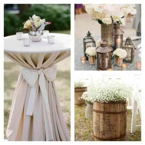 idées de décoration de mariage champêtre