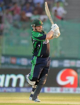 Paul Stirling's 34-ball 60 propelled Ireland to a three-wicket win over Zimbabwe in Sylhet
