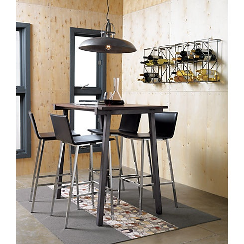 vice high dining table CB2