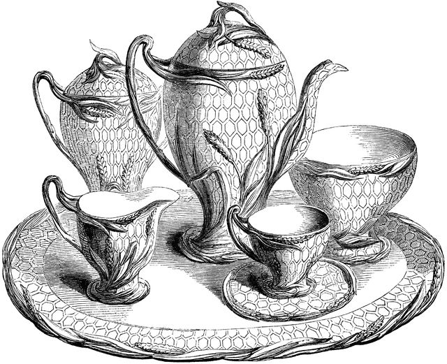 Coffee Service, The Art Journal The Industry of All Nations Illustrated Catalogue (London, England: Bradbury and Evans, 1851)