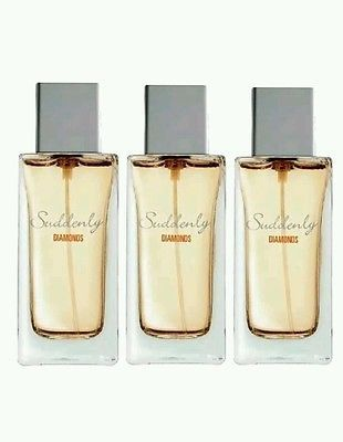 3 X 50 ml Eau De Parfume Suddenly Diamonds 50ml For WOMEN