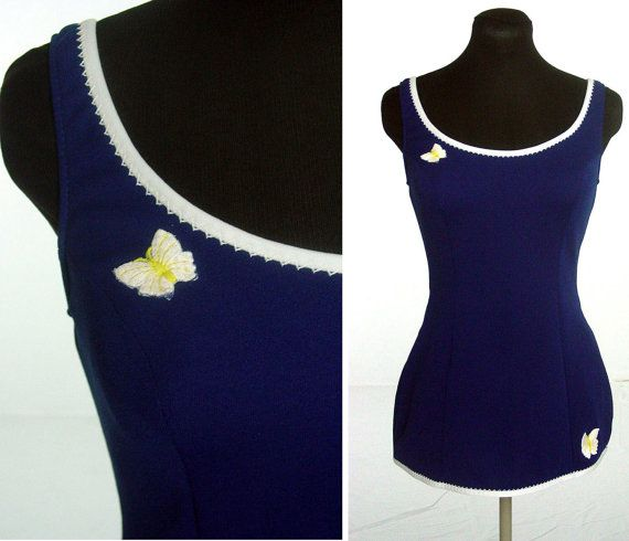 Vintage 1960s Catalina bathing suit. Wish this was still in style! I'd have more swimming buddies!)